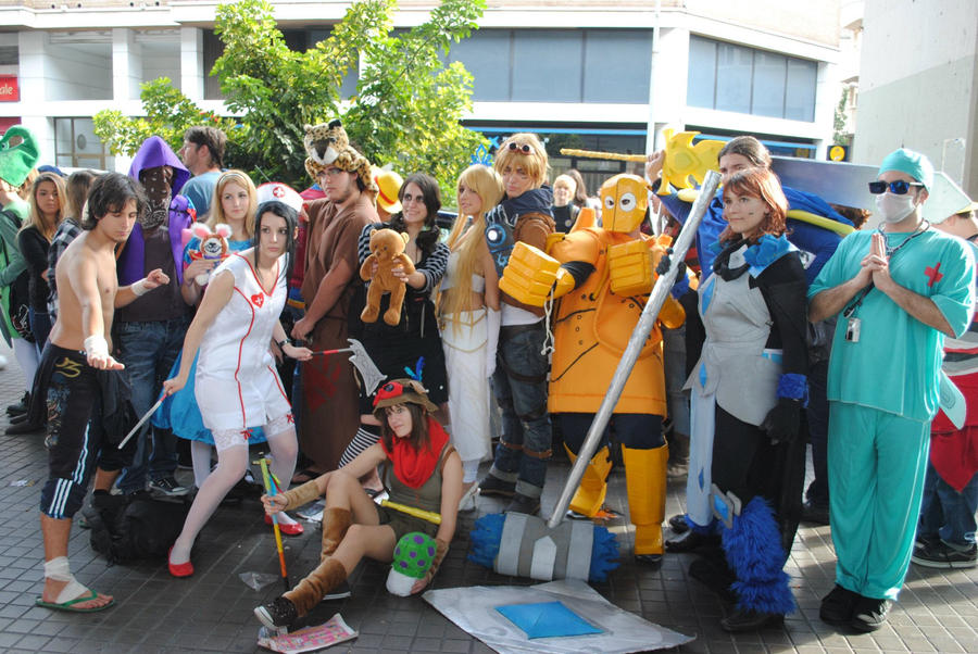 league of legends cosplay 3 by Nuskineta