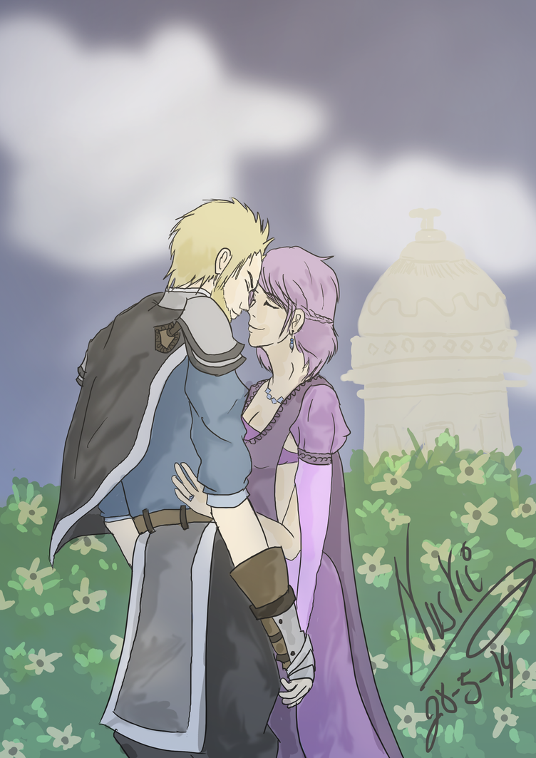 Yvannel and Irva by Nuskineta