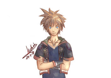 Sora (Kingdom Hearts 3) by Nuskineta
