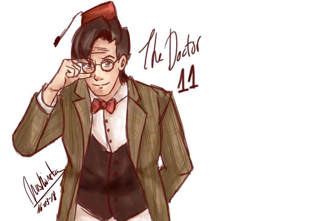 Doctor Matt smith by Nuskineta