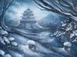 Heavy Snows by JWilsonIllustration