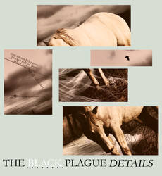 the black plague -- details by Demue