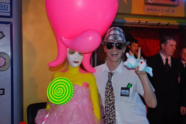 Plastic Lady and Me by sheph