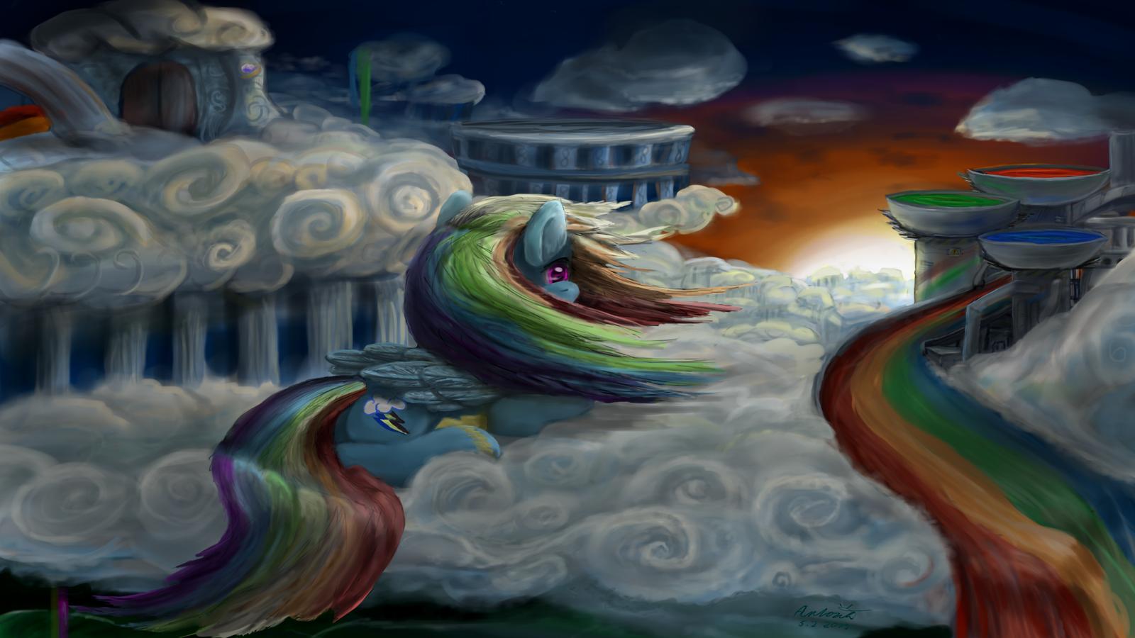 Dream come true by anttosik