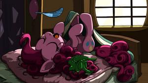 Pinkie Sleepy Time WALLPAPER