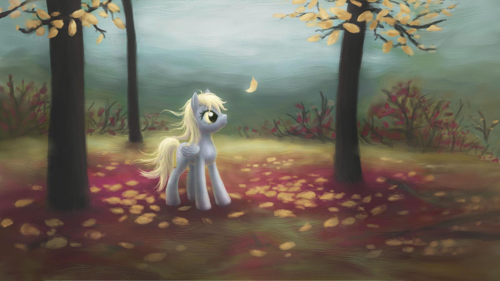 Autumn Derpy WALLPAPER