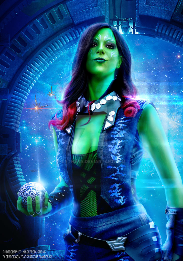 Gamora Cosplay by Lythara