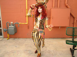 Patchwork Hatter by Slaughterose