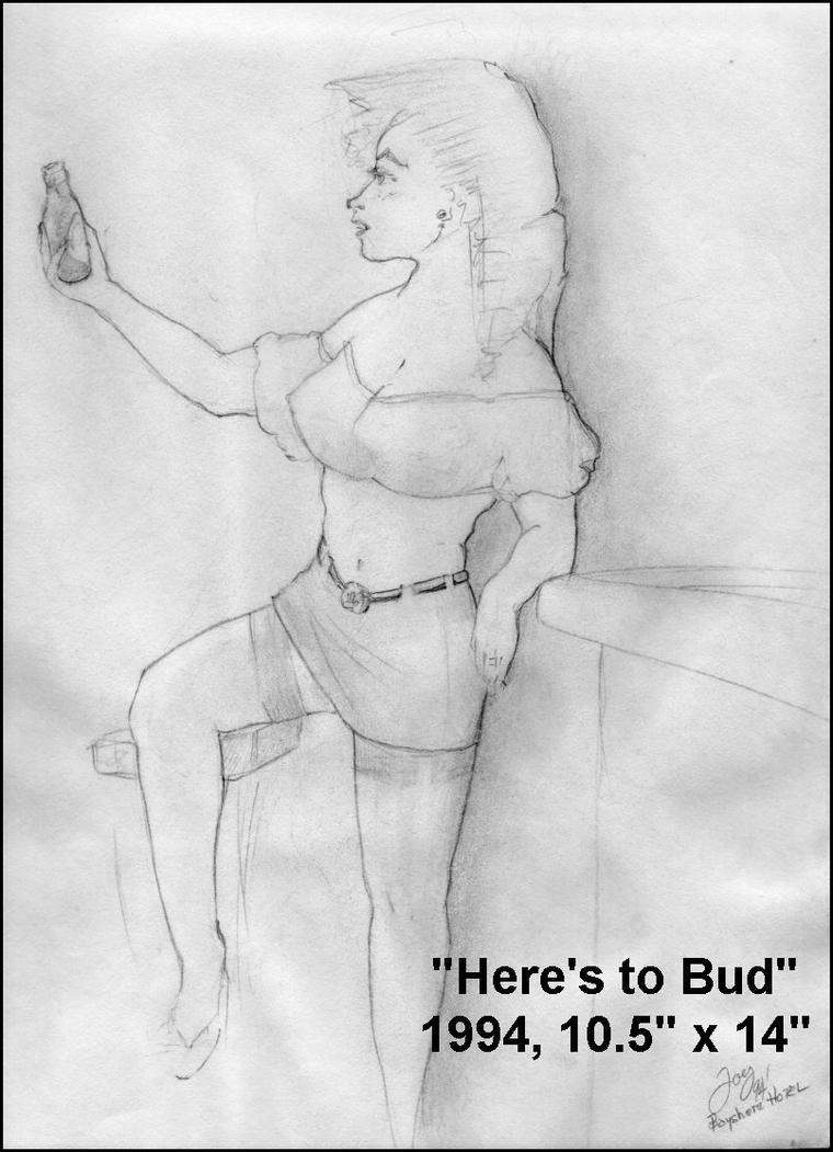 Here's To Bud by Joepegasus