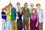 Weasley Family portrait