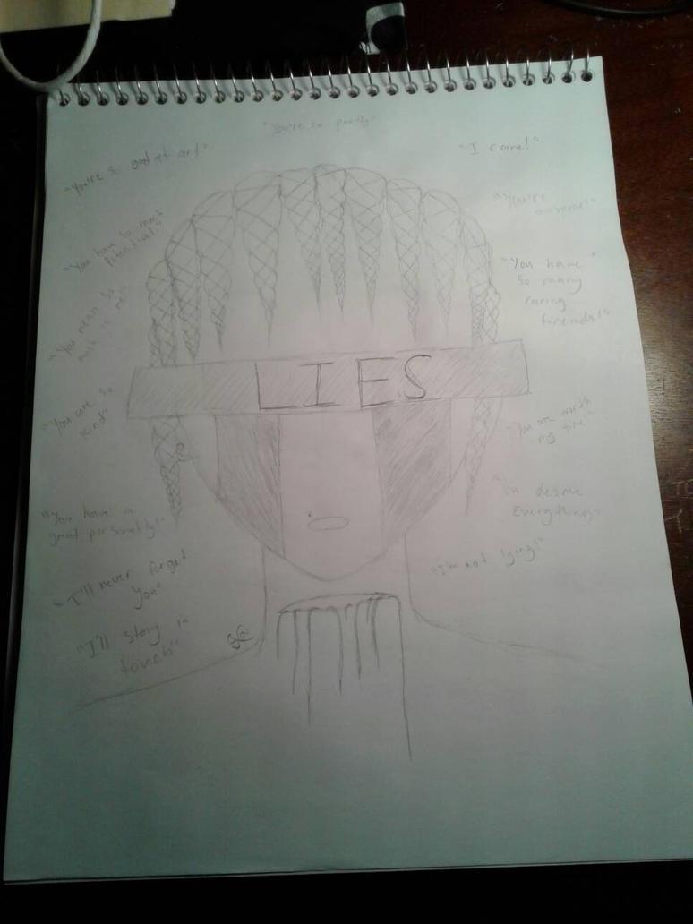 Lies  by Wierdofromspavetm