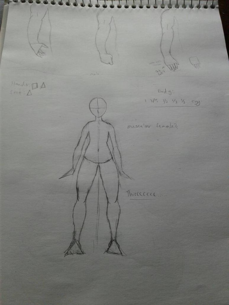 Anatomy Practice #1 by Wierdofromspavetm