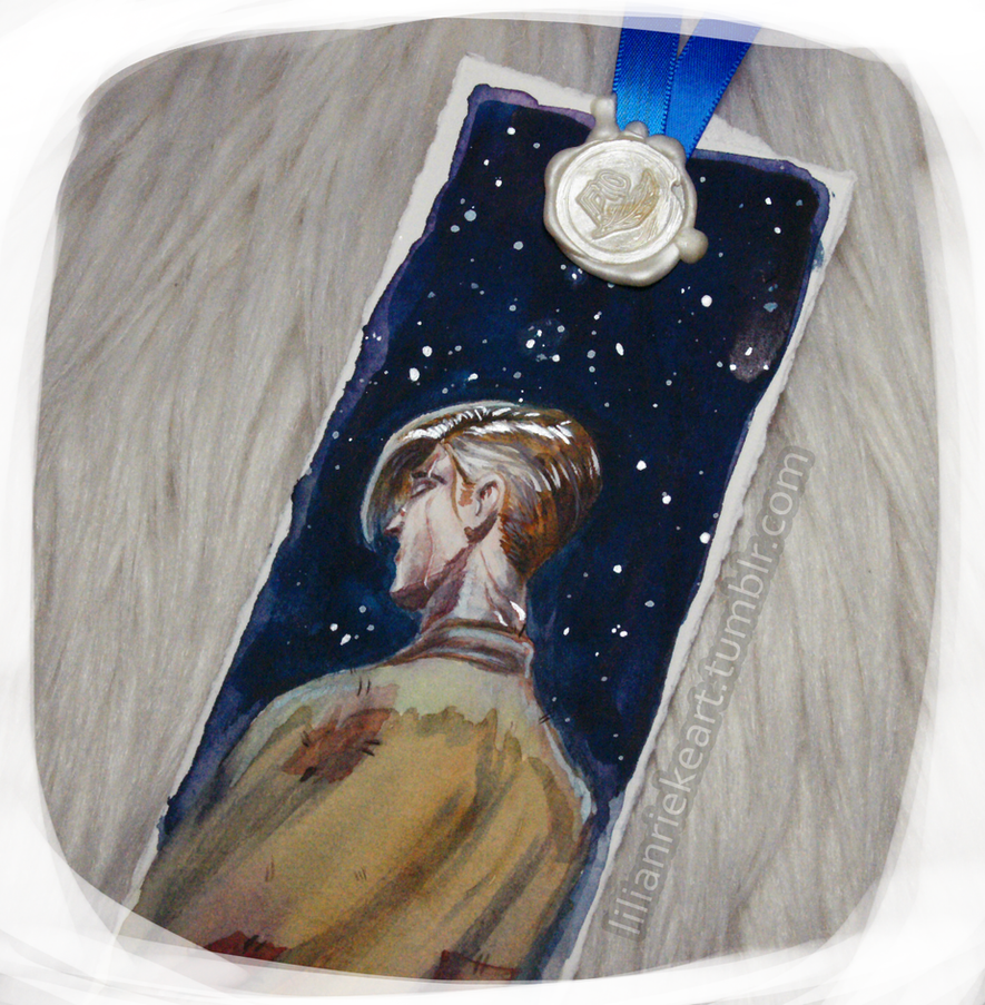 Remus Lupin - Bookmark by LilianRieke