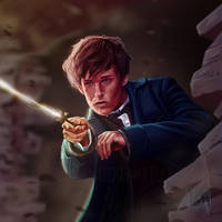 Newt Scamander - Fantastic Beasts by LilianRieke