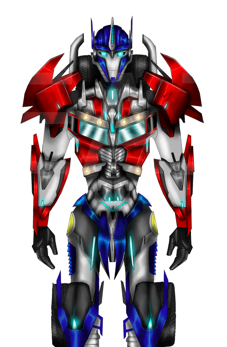 Optimus prime custom design by eaj digital on deviantart - Optimus prime dessin ...