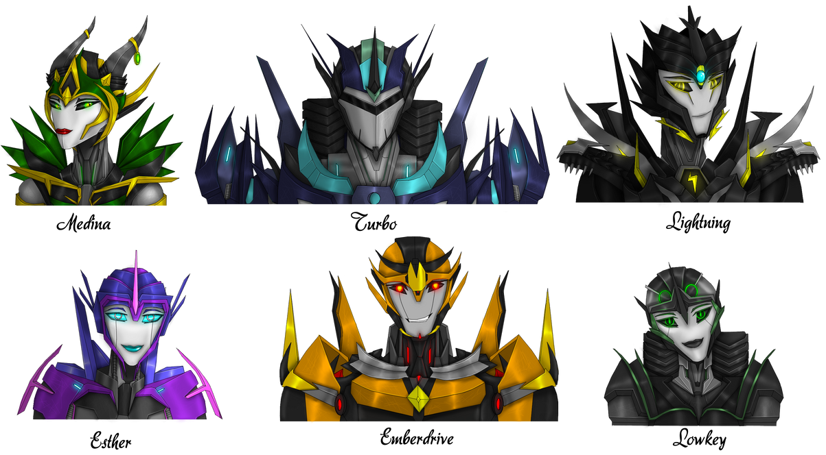 Awesome OC's by EAJ-Transformers
