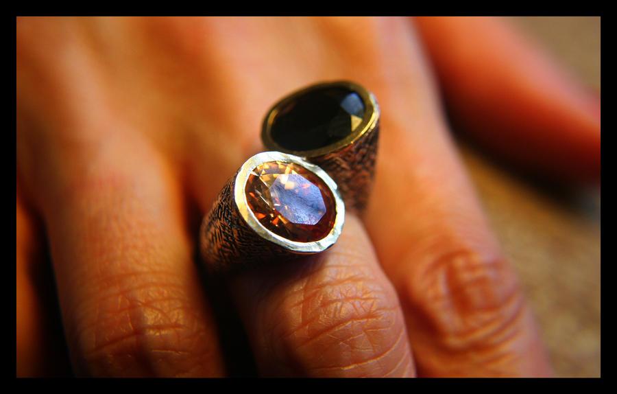 Кольцо для мужа своими руками