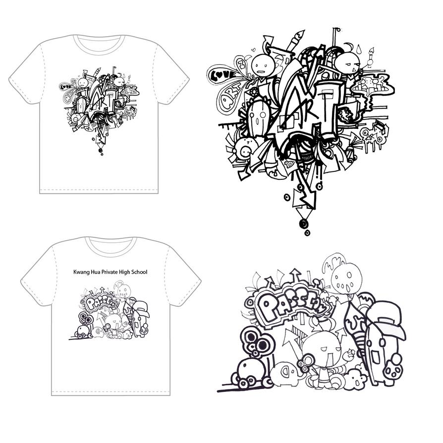 Art society Shirts by eriquechong97