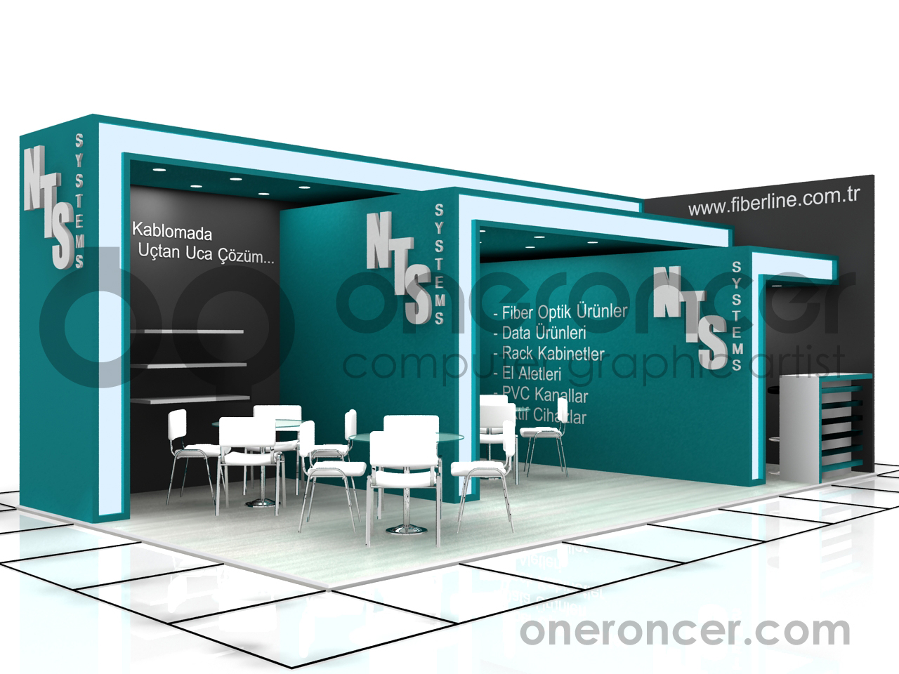 Exhibition Stand Cebit 2010 by oneroncer