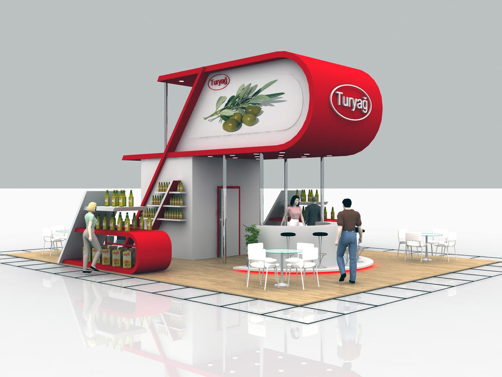 Exhibition Stand Etiquette : Turyag exhibition stand design by oneroncer on deviantart
