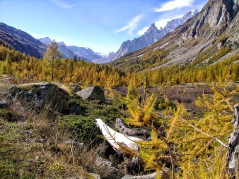 October in  the Italian Alps