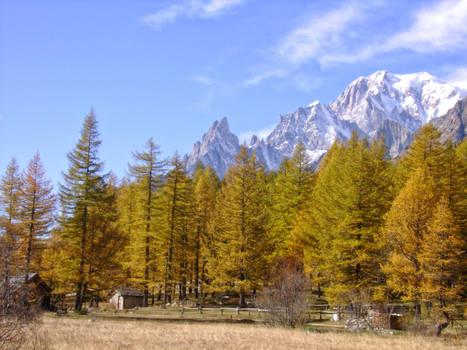 October in the Italian Alps IX