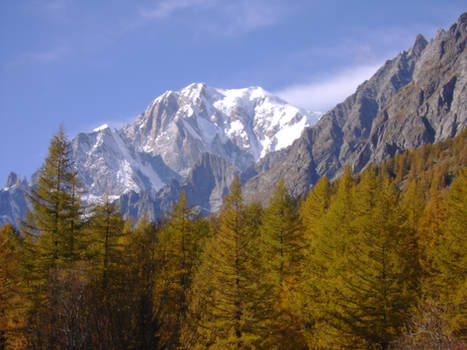 October in the Italian Alps X
