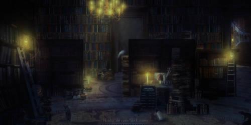 Rat de bibliotheque by Niolu