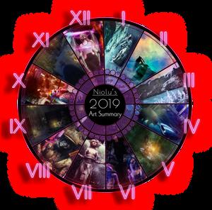 Niolu's 2019 Art Summary
