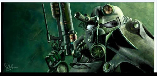 Brother Hood of Steel by suzikinz
