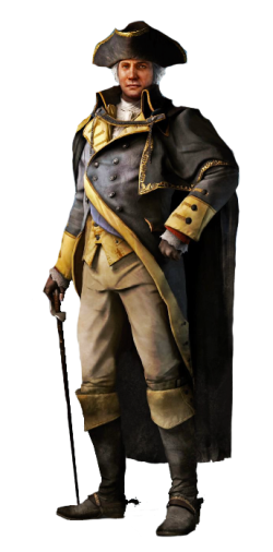Assassins Creed 3- George Washington by McGillminator