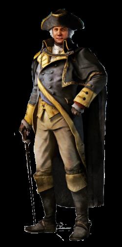 Assassins Creed 3- George Washington by McGillminator