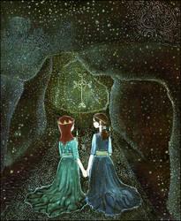 a secret oath of friendship by barbarasobczynska