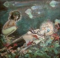 Boy with a Pearl Eyeball by barbarasobczynska