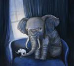 the origami elephant