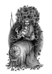 Mokosz, the Great Mother by barbarasobczynska