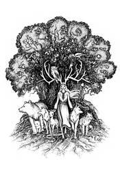 Rogata Pani Zwierzat, Lady of the Forest