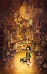 Momo at the House of Time by barbarasobczynska