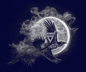 Veles, a God of the Underworld Symbol