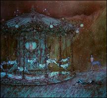 a dream of a carousel by barbarasobczynska