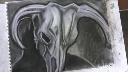 Art Class : Charcoal and Eraser
