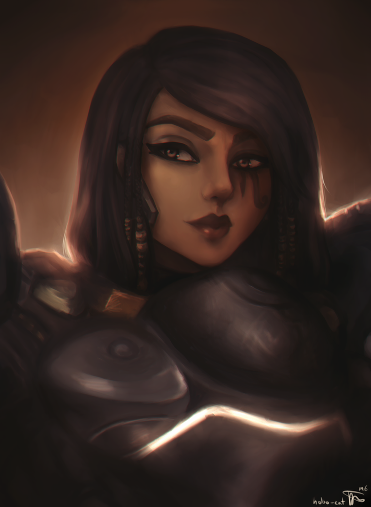 Pharah (Overwatch) by hobo-cat
