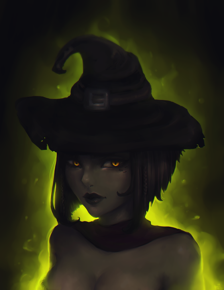 Witch by hobo-cat
