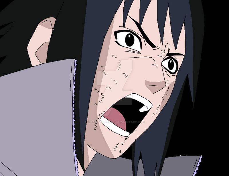 Angry Sasuke by LordSarito on DeviantArt