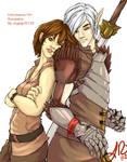 Commission: Fenris and Liz