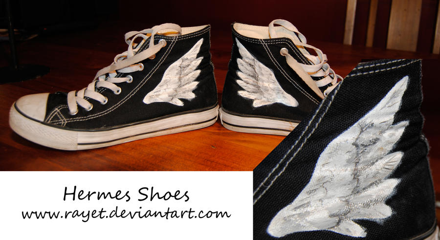 The Gallery For Gt Percy Jackson Hermes Shoes