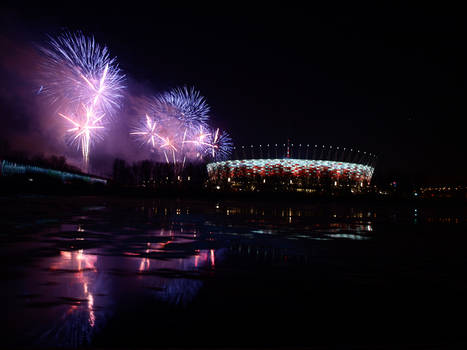 Inauguration of National Stadium in Warsaw