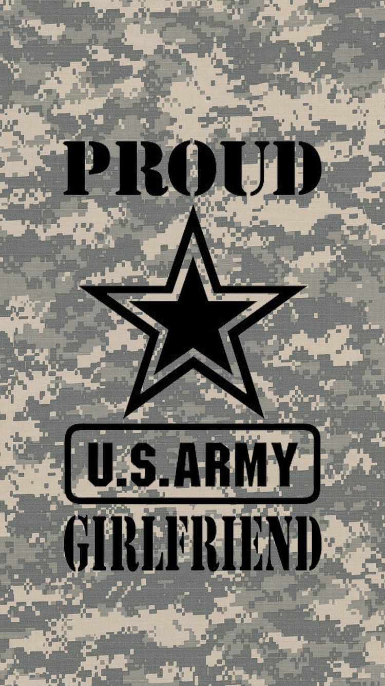 ... Army Girlfriend iPhone Wallpaper by Irish-Stag