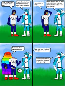 Rainbow Ghost