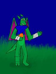 Goblin Dragon by Keyotea